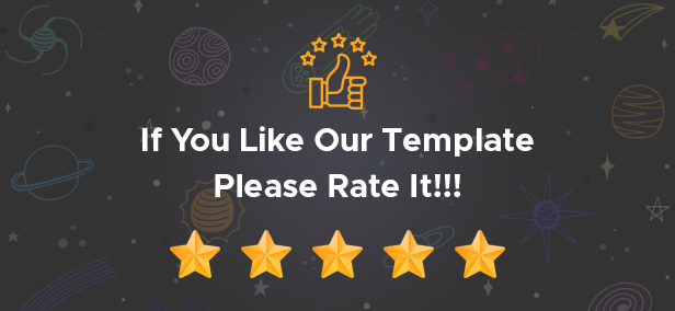If you've enjoyed using our themes , please don't forget to leave a positive rating